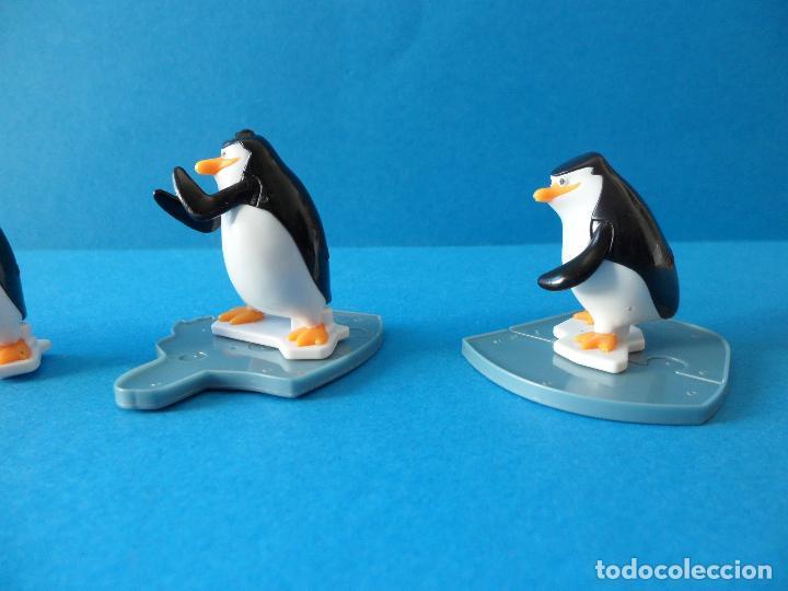 Figuras Kinder: Lote de figuras Kinder Sorpresa - Los pinguinos de Madagascar - Foto 11 - 104901815