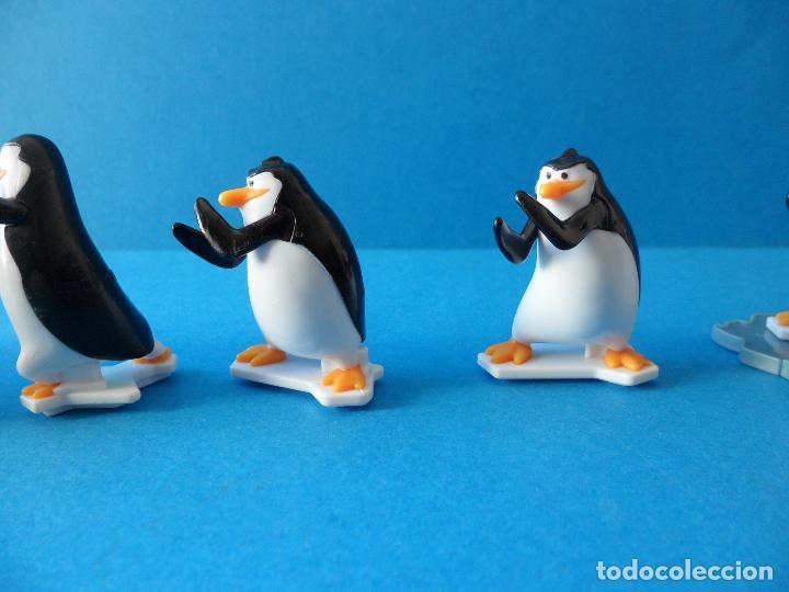 Figuras Kinder: Lote de figuras Kinder Sorpresa - Los pinguinos de Madagascar - Foto 12 - 104901815