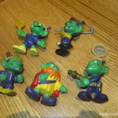 Figuras de Goma y PVC: LOTE DE MUÑECOS ASTROSNIKS SNIKS. Lote 105101919