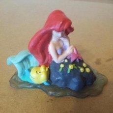 Figuras de Goma y PVC: BONITA FIGURA DE ARIEL LA SIRENITA DISNEY. Lote 228100271