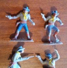 Figuras de Goma y PVC: GOM-1910- FIGURAS JEAN HOEFLER W.GERMANY, CONFERADOS . Lote 105206083