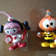 Figuras de Goma y PVC: SNORKELS PVC AÑOS 80. Lote 105258372