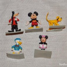 Figuras de Goma y PVC: VINTAGE - LOTE DEFIGURITAS WALT DISNEY PRODUCTIONS MAGIC KINGGOM MINIATURE FIGURES - 1961. Lote 105268803