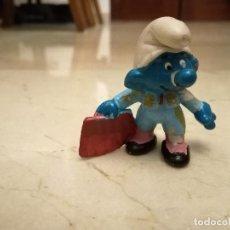 Figuras de Goma y PVC: PITUFO TORERO PVC. Lote 105361679