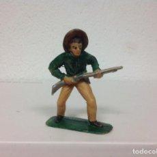 Figuras de Goma y PVC: FIGURA VAQUERO JECSAN - FIGURA PLASTICO DE JECSAN . Lote 105389155