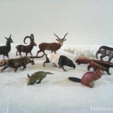 Figuras de Goma y PVC: LOTE ANIMALES DE LA CASA STARLUX . Lote 105457139