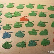 Figuras de Goma y PVC: LOTE DE 32 TANQUES MONTAPLEX. Lote 105622155