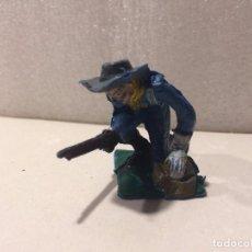 Figuras de Goma y PVC: FIGURA SOLDADO FEDERAL - OLIVER 70 MM . Lote 105643183