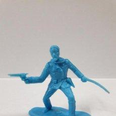 Figuras de Goma y PVC: EL GENERAL CUSTER . EN PLASTICO MONOCOLOR. Lote 105665427