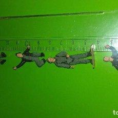 Figuras de Goma y PVC: LOTE CUATRO SOLDADOS NO MONTAPLEX. Lote 105707363