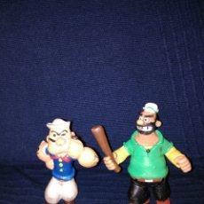 Figuras de Goma y PVC: BRUTUS Y POPEYE DE PVC DE CÓMICS SPAIN. Lote 105743748