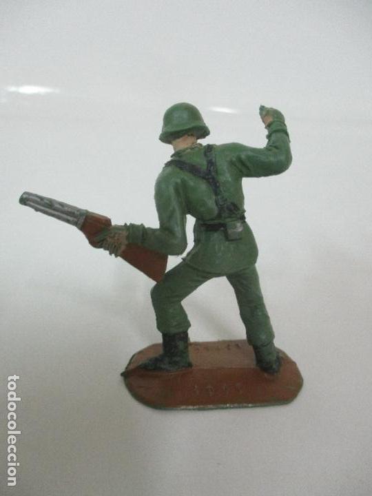 Figuras de Goma y PVC: 4 Soldados Españoles - Marca Comansi - Ejércitos del Mundo - Soldado - Ref nº 1014,15,16,18 - Foto 4 - 105870127