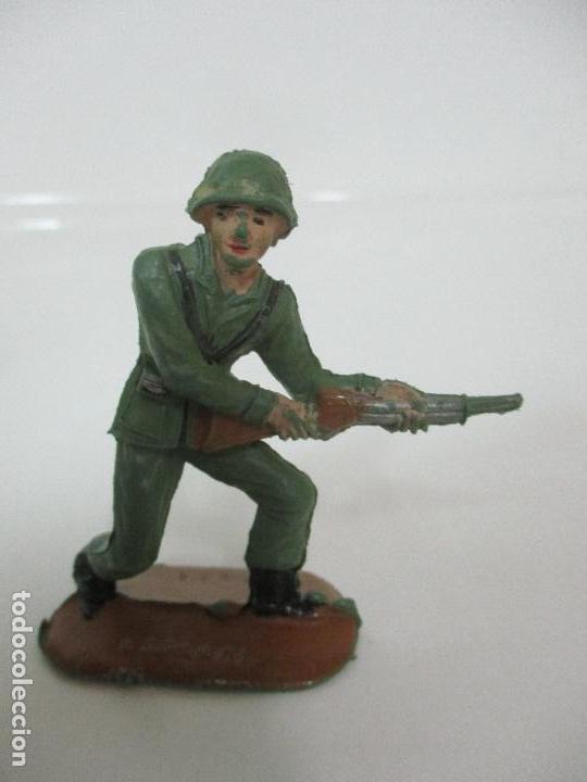 Figuras de Goma y PVC: 4 Soldados Españoles - Marca Comansi - Ejércitos del Mundo - Soldado - Ref nº 1014,15,16,18 - Foto 5 - 105870127