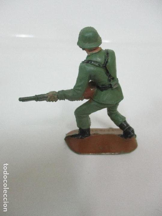 Figuras de Goma y PVC: 4 Soldados Españoles - Marca Comansi - Ejércitos del Mundo - Soldado - Ref nº 1014,15,16,18 - Foto 6 - 105870127