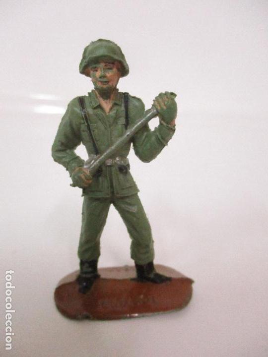 Figuras de Goma y PVC: 4 Soldados Españoles - Marca Comansi - Ejércitos del Mundo - Soldado - Ref nº 1014,15,16,18 - Foto 7 - 105870127