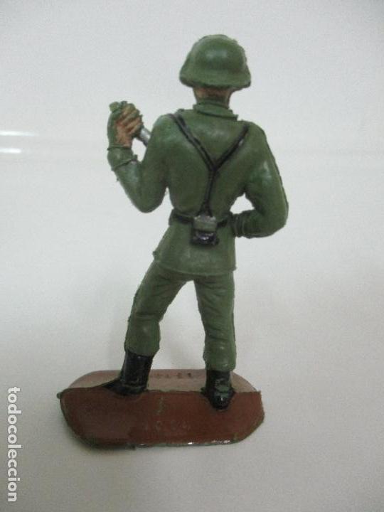 Figuras de Goma y PVC: 4 Soldados Españoles - Marca Comansi - Ejércitos del Mundo - Soldado - Ref nº 1014,15,16,18 - Foto 8 - 105870127