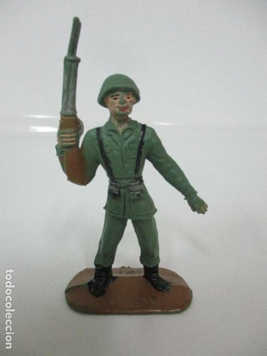 Figuras de Goma y PVC: 4 Soldados Españoles - Marca Comansi - Ejércitos del Mundo - Soldado - Ref nº 1014,15,16,18 - Foto 9 - 105870127