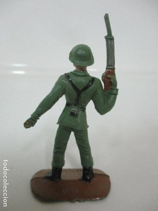 Figuras de Goma y PVC: 4 Soldados Españoles - Marca Comansi - Ejércitos del Mundo - Soldado - Ref nº 1014,15,16,18 - Foto 10 - 105870127