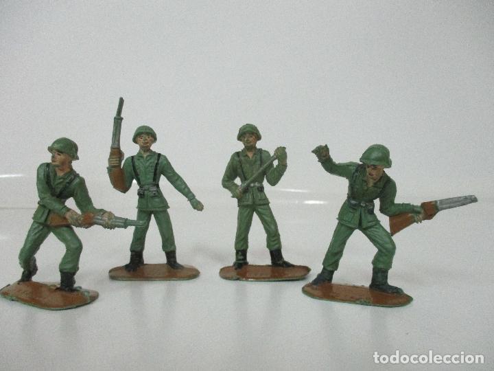 Figuras de Goma y PVC: 4 Soldados Españoles - Marca Comansi - Ejércitos del Mundo - Soldado - Ref nº 1014,15,16,18 - Foto 11 - 105870127