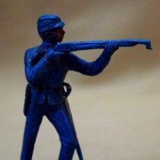 Figuras de Goma y PVC: FIGURA DE PLASTICO, SOLDADO, SEPTIMO, YANKEE, FABRICADO POR JECSAN. Lote 105887075