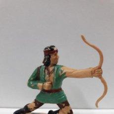Figuras de Goma y PVC: GUERRERO INDIO - FIGURA REAMSA Nº 341 . SERIE APACHES . AÑOS 60. Lote 105930047