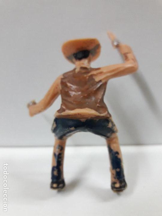 Figuras de Goma y PVC: VAQUERO - COWBOY PARA CABALLO . FIGURA REAMSA Nº 429 . SERIE ASALTO A LA DILIGENCIA . AÑOS 60 - Foto 2 - 105931787