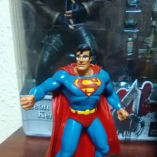 Figuras de Goma y PVC: SUPERMAN - MAN OF STEEL - FIGURA DE GOMA - COMICS SPAIN - AÑO 1992. Lote 105992179