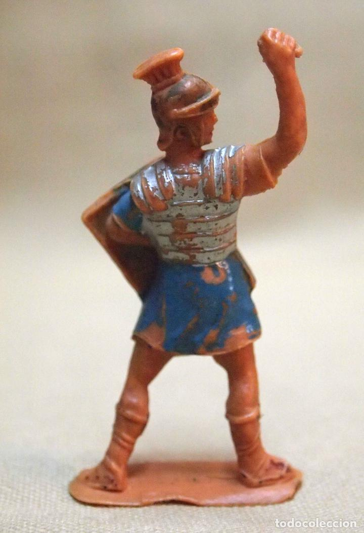 Figuras de Goma y PVC: FIGURA DE PLASTICO, SOLDADO ROMANO, FABRICADO POR JECSAN, 1970s - Foto 2 - 106072563