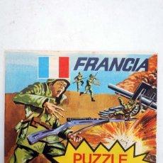 Figuras de Goma y PVC: SOBRE MONTAPLEX PUZZLE COMANDOS FRANCIA. AÑOS 70-80. NUEVO SIN ABRIR. OFRT. Lote 106112982