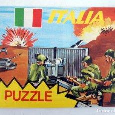 Figuras de Goma y PVC: SOBRE MONTAPLEX PUZZLE COMBATIENTES ITALIA. AÑOS 70-80. NUEVO SIN ABRIR. OFRT. Lote 106112990