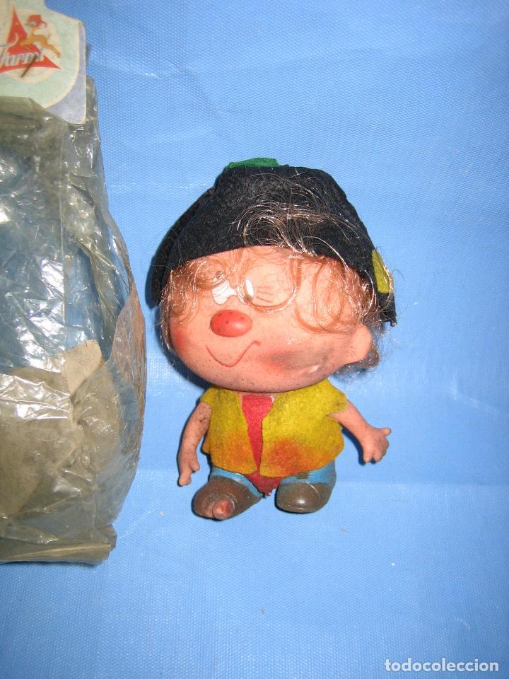 Figuras de Goma y PVC: Antiguo muñeco de juguetes Farmi años 70 o 80 - Foto 3 - 106584515