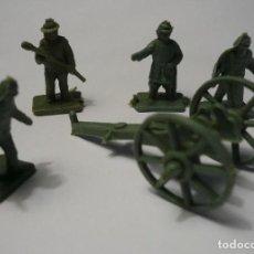 Figuras de Goma y PVC: LOTE SOLDADOS CONFEDERADOS MONTAPLEX. Lote 106731187