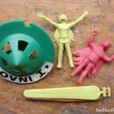 Figurines en Caoutchouc et PVC: OVNI - I - PLATILLO VOLANTE CON LANZADORA Y 2 EXTRATERRESTRES. Lote 106798183