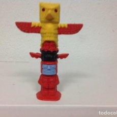 Figuras de Goma y PVC: FIGURA TOTEM INDIO TIMPO - GREAT BRITAIN DE TIMPO TOYS - MADE IN ENGLAND . Lote 106965343