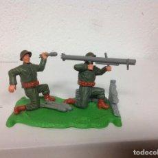 Figuras de Goma y PVC: FIGURA BAZOKA TIMPO TOYS,SOLDADOS DIORAMA CON BAZOKA TIMPO AMERICANOS TIMPO . Lote 106967555