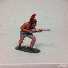 Figuras de Goma y PVC: FIGURA INDIO JECSAN - INDIO DE JECSAN . Lote 106971579