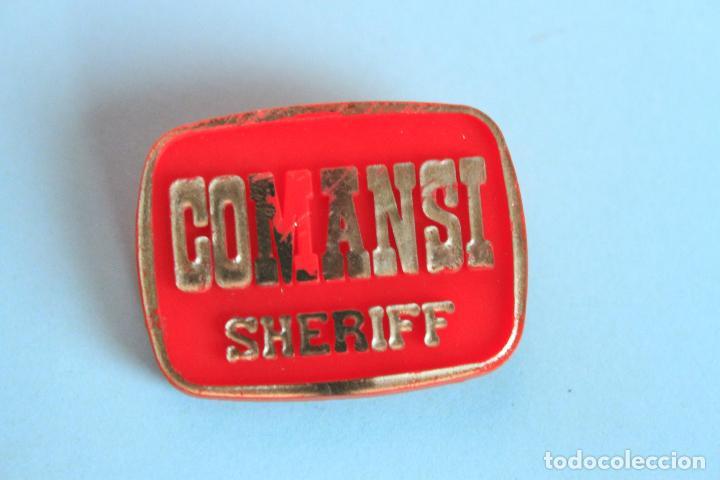 PLACA SHERIFF DE COMANSI (Juguetes - Figuras de Goma y Pvc - Comansi y Novolinea)