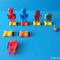 Figuras Kinder: LOTE DE FIGURAS KINDER SORPRESA - COLECCIÓN ROBOTS - DESPIECE. Lote 107029035