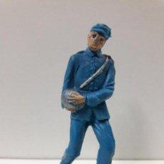 Figuras de Goma y PVC: ARTILLERO SERVIDOR DE CAÑON - SOLDADO FEDERAL YANKEE . REALIZADO POR PECH . AÑOS 60. Lote 107135063
