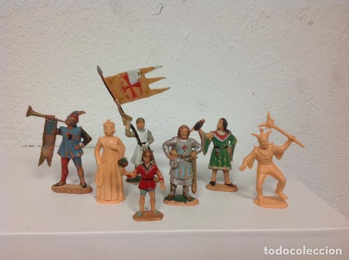 FIGURA MEDIEVAL REAMSA - CORTE FEUDAL DE REAMSA - MEDIEVALES DE REAMSA (Juguetes - Figuras de Goma y Pvc - Reamsa y Gomarsa)