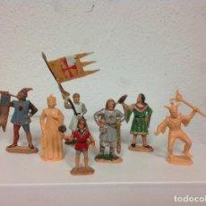 Figuras de Goma y PVC: FIGURA MEDIEVAL REAMSA - CORTE FEUDAL DE REAMSA - MEDIEVALES DE REAMSA. Lote 107176727