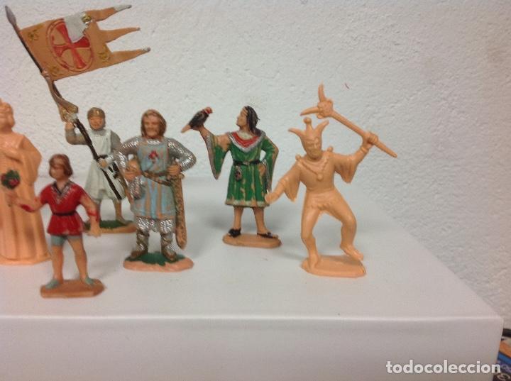 Figuras de Goma y PVC: FIGURA MEDIEVAL REAMSA - corte feudal de reamsa - medievales de reamsa - Foto 2 - 107176727