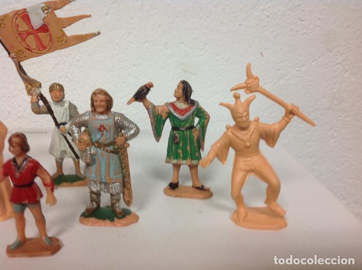 Figuras de Goma y PVC: FIGURA MEDIEVAL REAMSA - corte feudal de reamsa - medievales de reamsa - Foto 5 - 107176727