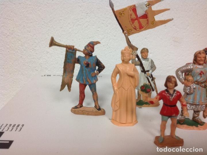 Figuras de Goma y PVC: FIGURA MEDIEVAL REAMSA - corte feudal de reamsa - medievales de reamsa - Foto 6 - 107176727