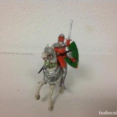 Figuras de Goma y PVC: FIGURA MEDIEVAL JECSAN - CRUZADO DE JECSAN CABALLO REAMSA - MEDIEVAL MIO CID LOS CRUZADOS JECSAN. Lote 107177755