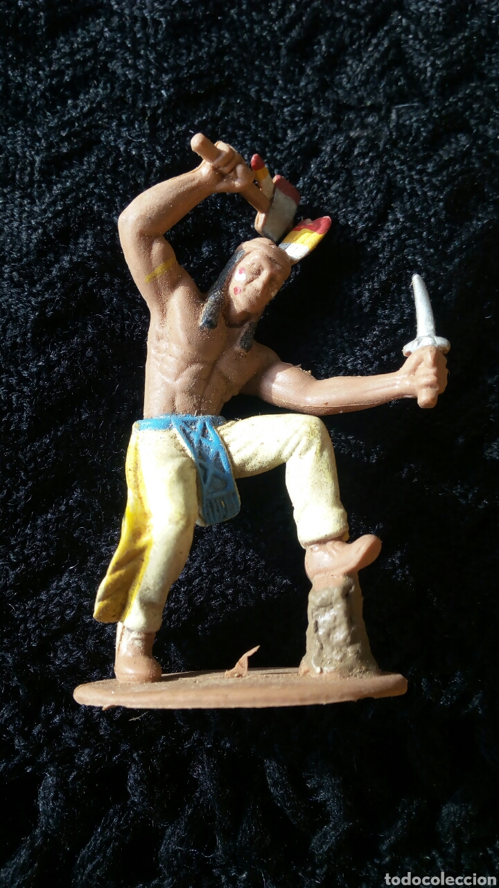 INDIO DE PECH (Juguetes - Figuras de Goma y Pvc - Pech)