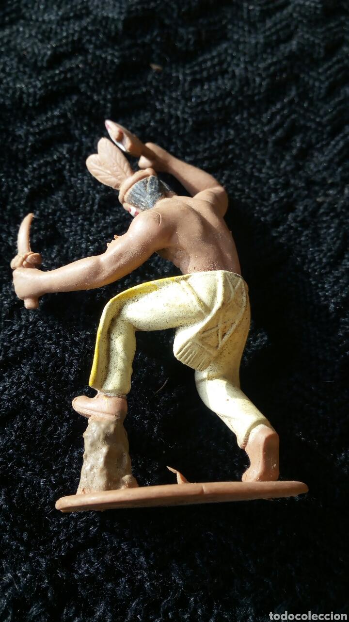 Figuras de Goma y PVC: INDIO DE PECH - Foto 4 - 107191875