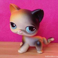 Figuras de Goma y PVC: FIGURA LPS LITTLEST PET SHOP HASBRO 2004 GATO CAT 27. Lote 107209579
