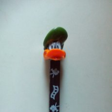 Dispensador Pez: DISPENSADOR CARAMELOS PEZ PATO LUCAS. Lote 107317680