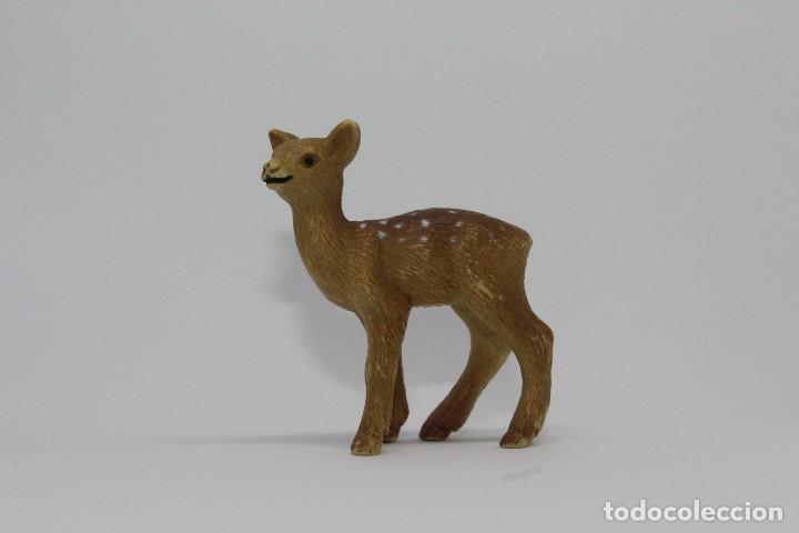 ANIMALES DEL BOSQUE SCHLEICH CIERVO CERVATILLO 14228 (Juguetes - Figuras de Goma y Pvc - Schleich)